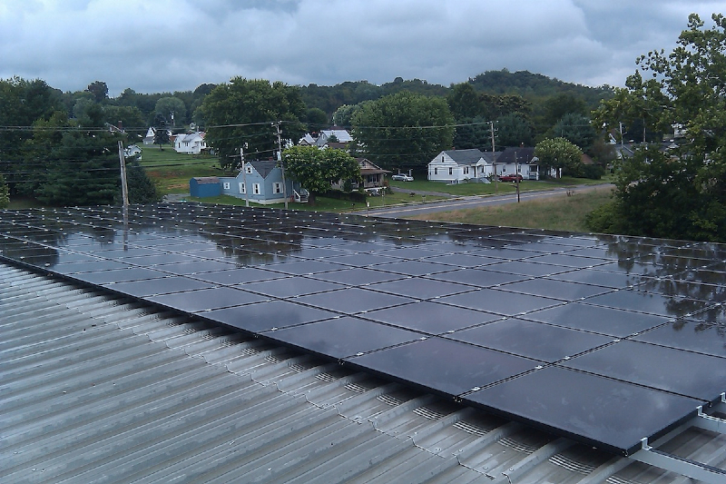22 kW Grid Tie system in Radford, VA