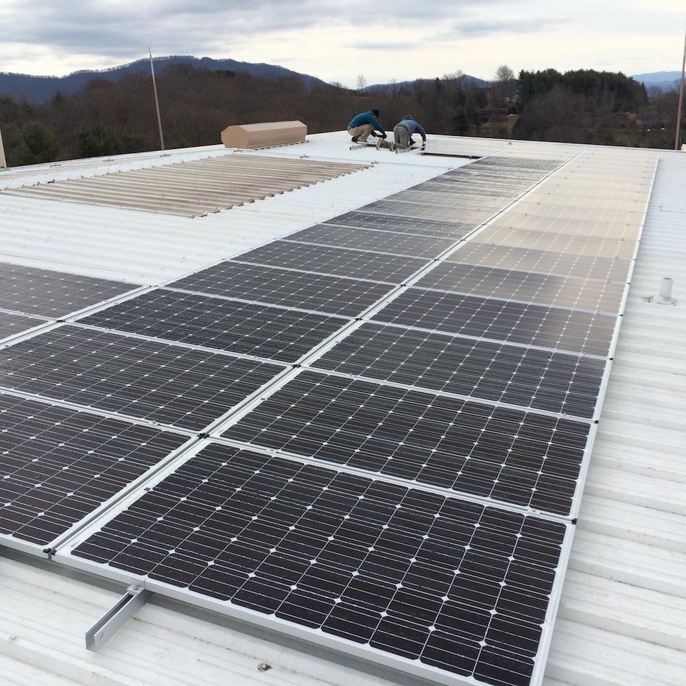13.68 kW grid-tie system