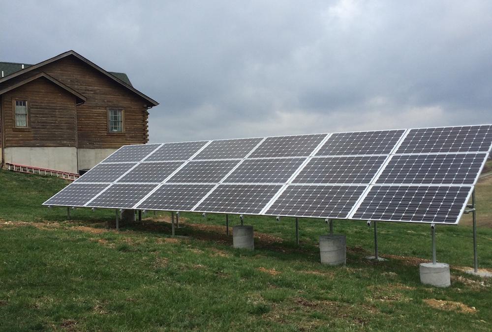 9.24 kW grid-tie system