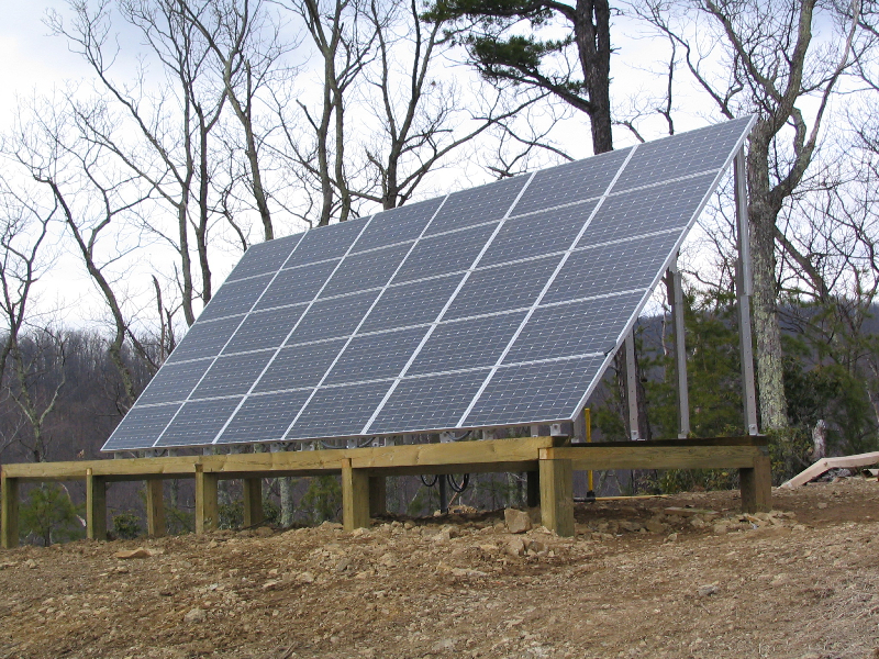 6 kW Off Grid system in Montebello, VA