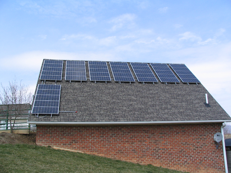4.8 kW Grid Interactive system in Independence, VA