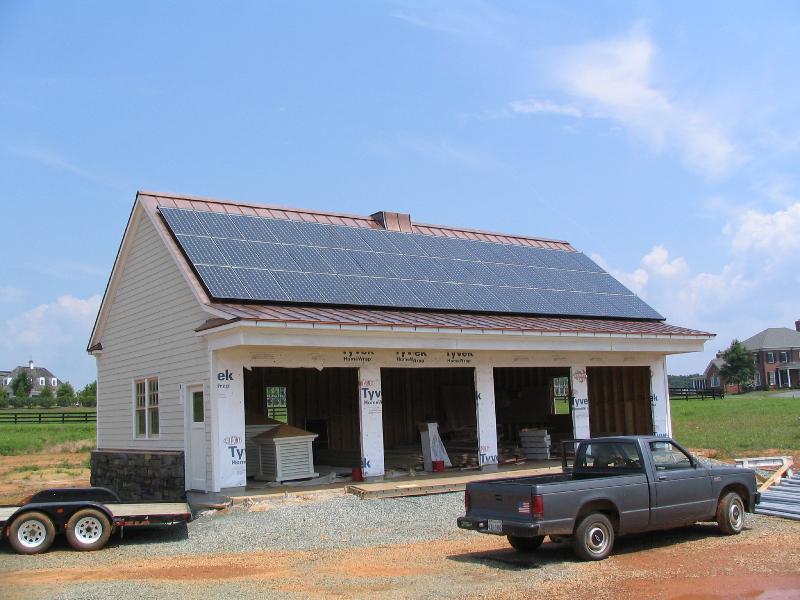 9.4 kW Grid Tie system in Charlottesville, VA