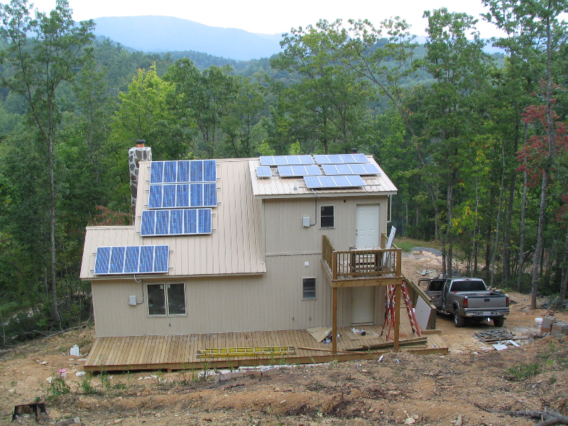 5.7 kW Off Grid system in Stewart, VA