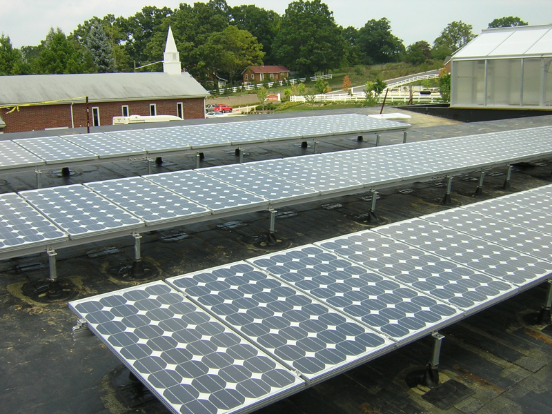 7 kW Grid Interactive system in Blacksburg, VA