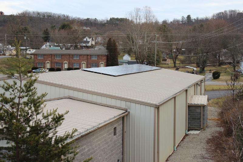 11.5 kW Commercial Grid Tie system in Radford, VA
