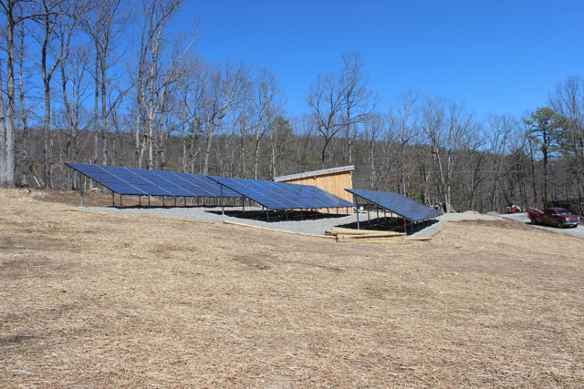 15.5kW grid-interactive in Roanoke, VA