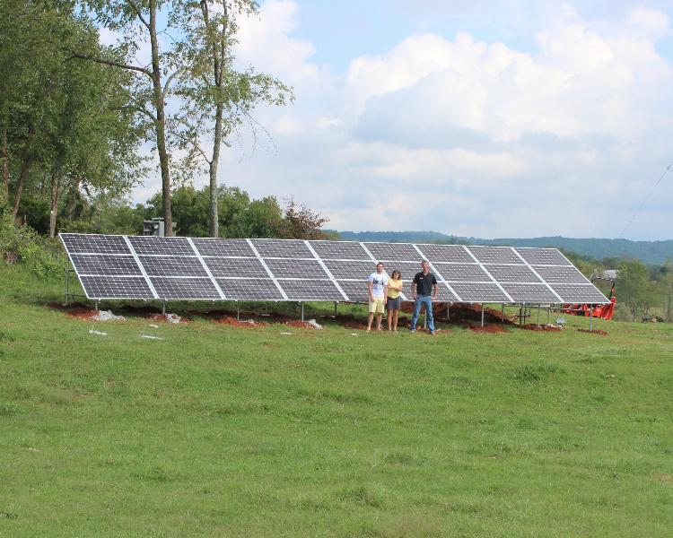 7.56 kW grid-tie system