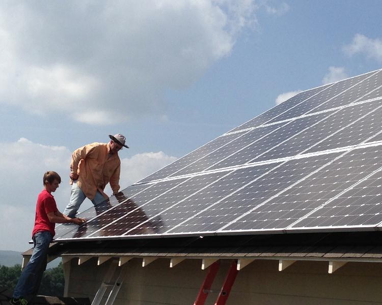 6.48 kW grid-tie system