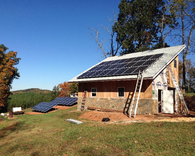 17.64 kW grid-tie system