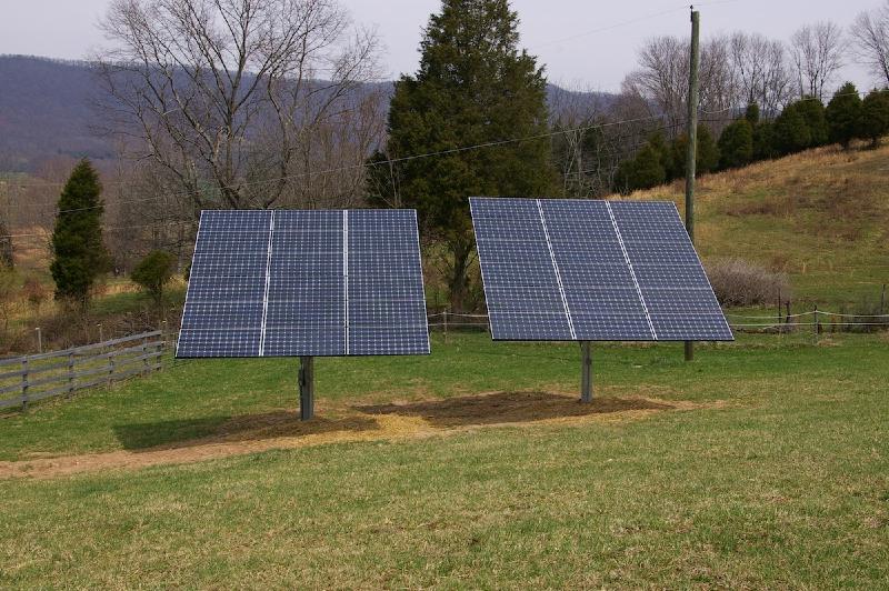 7.2 kW Grid Tie system in Newport, VA