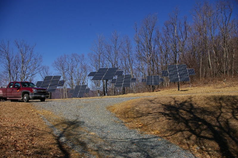 12 kW Off Grid system near Crozet, VA