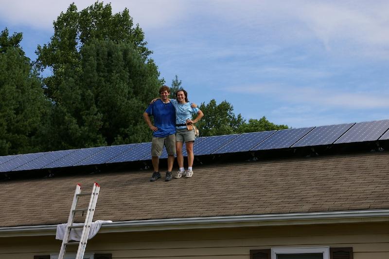 3.6 kW Grid Tie system in VA