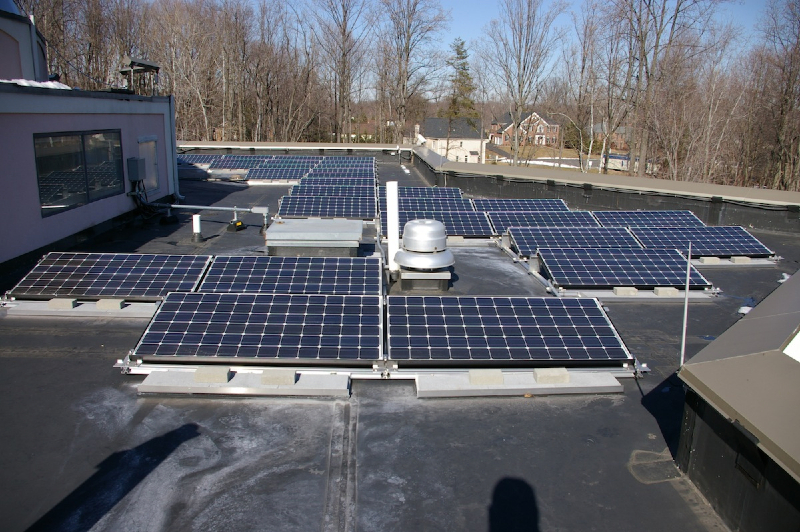 34 kW Grid Tie system on a school in Northern Virginia
