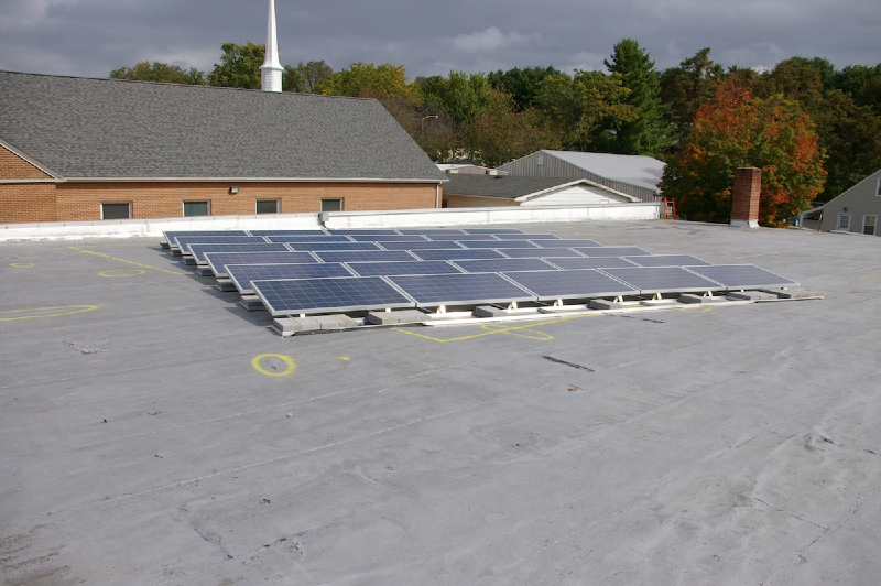 7.2 kW Commercial Grid Tie system in Blacksburg, VA