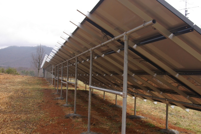 23.7 kW Grid Tie system near Roanoke, VA