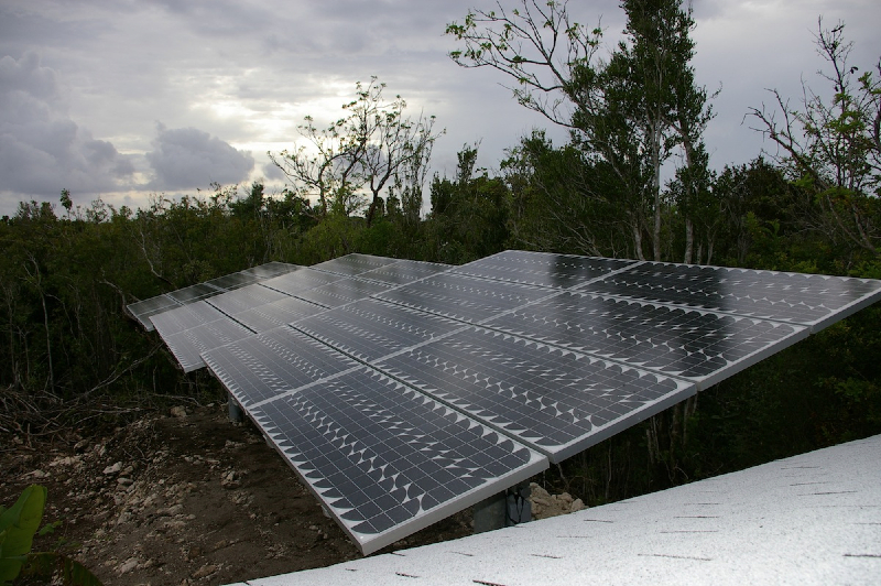 4 kW Off Grid system on Cat Island, Bahamas