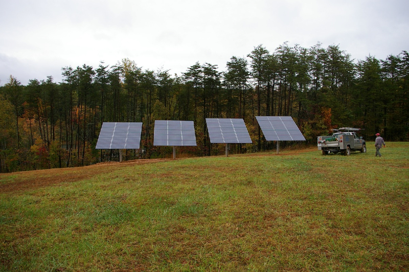 12 kW Grid Tie system in Earlysville, VA