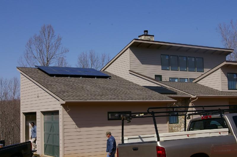 1.9 kW Grid Tie system near Lynchburg, VA