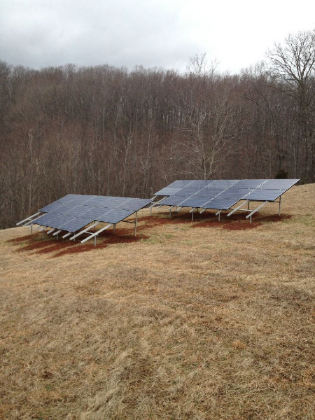 6.24 kW Grid Tie system in Nelson County, VA