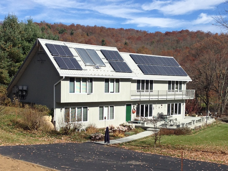 7.68 kW grid-tie system in Roanoke, VA