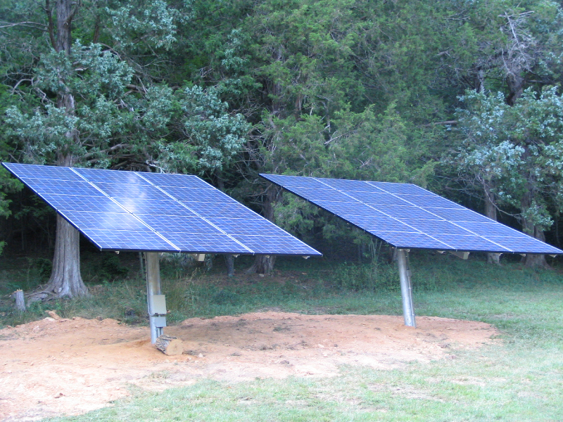 11 kW (partially shown) Grid Interactive system in Whitehall, VA