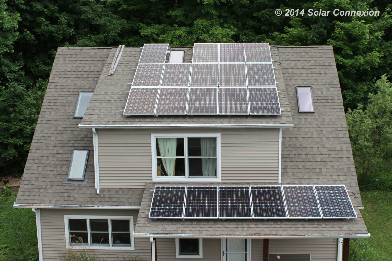 5.4 kW grid-tie/grid-interactive combo system, Solarize Blacksburg