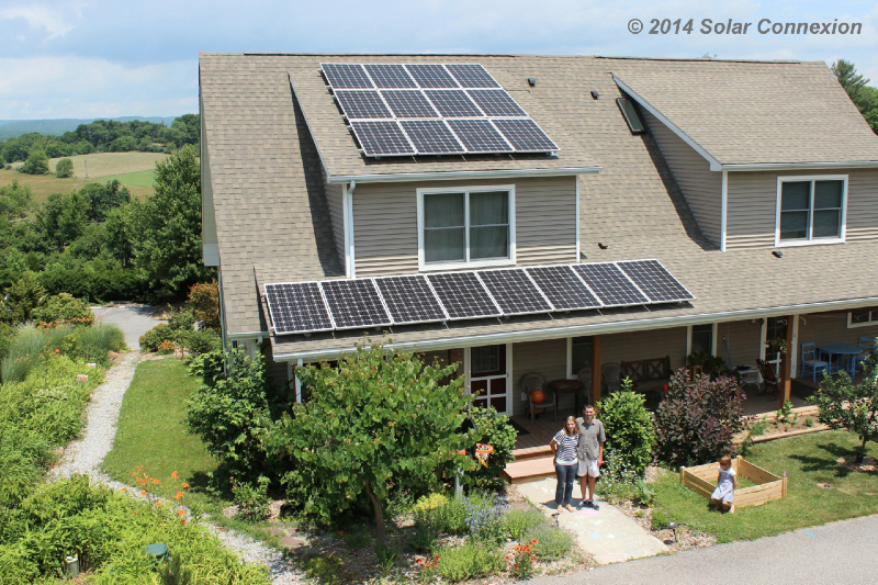 5.4 kW grid-tie system, Solarize Blacksburg